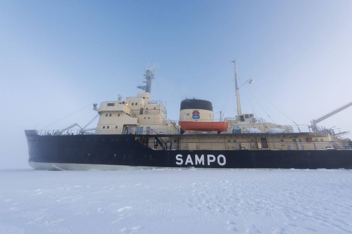 sampo icebreaker ship kemi lapland