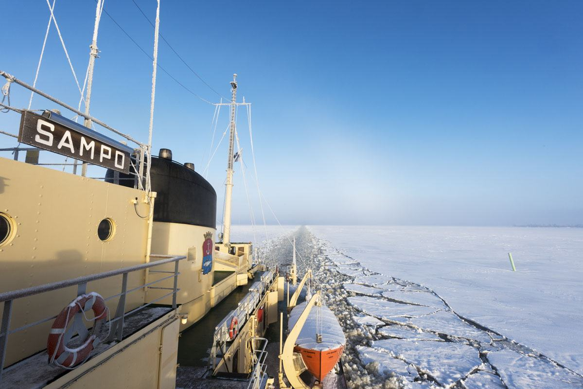icebreaker sampo clear sky