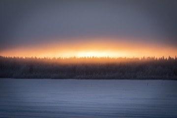 visit kemi finland winter sunset
