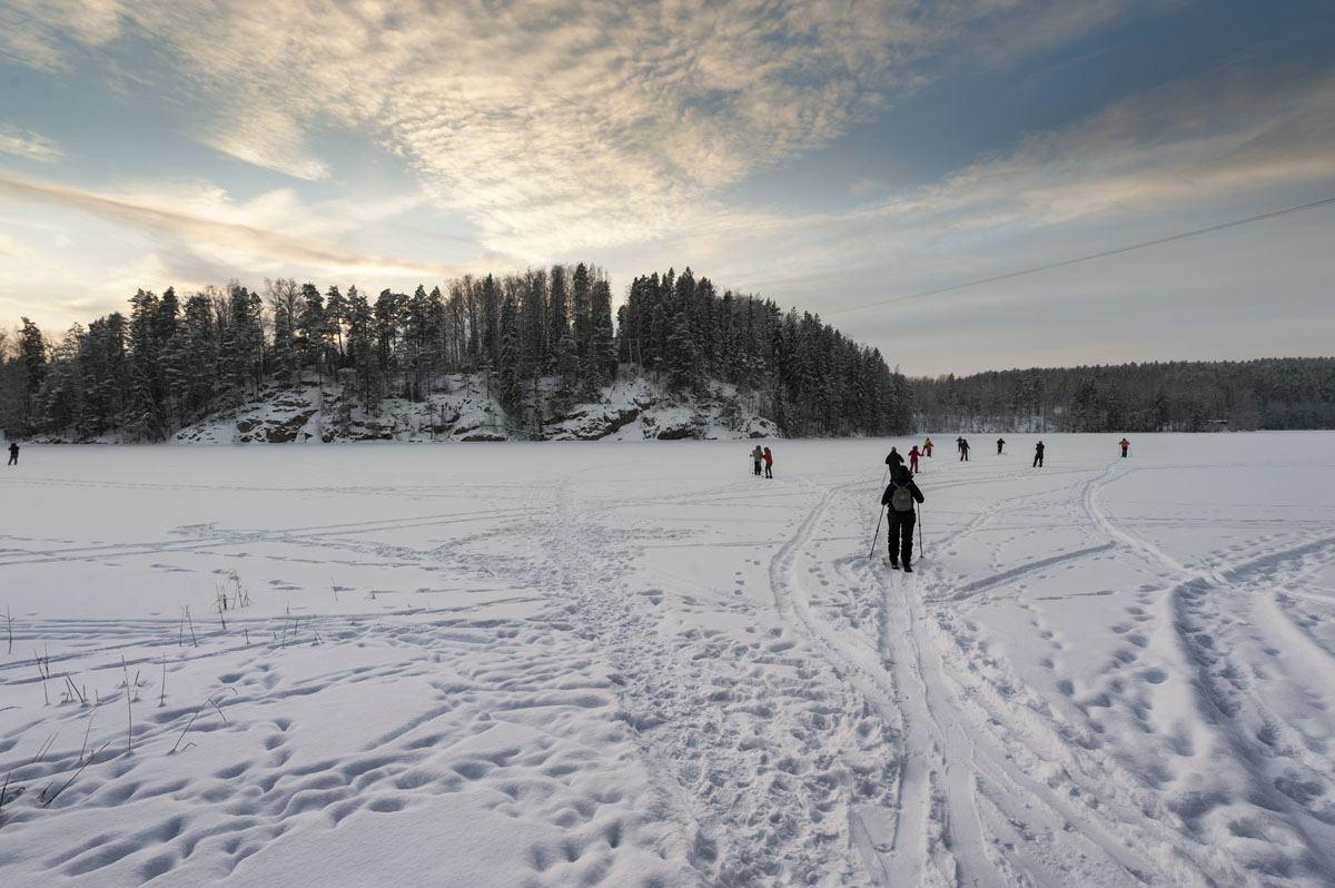 haltia nuuksio national park ice