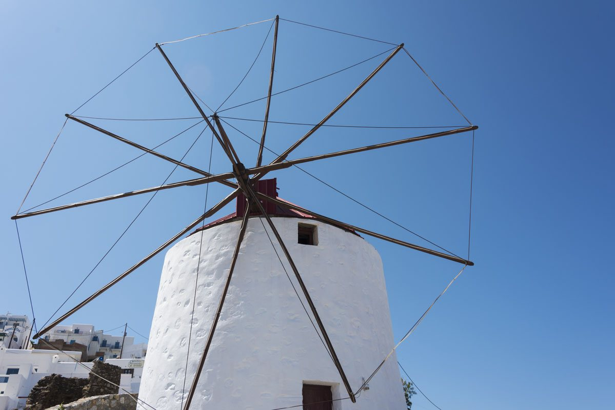 big windmill astypalea greek islands