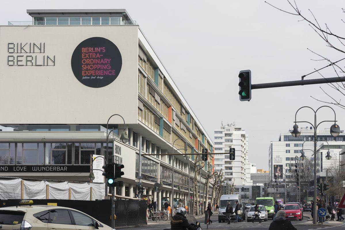 west berlin bikini building