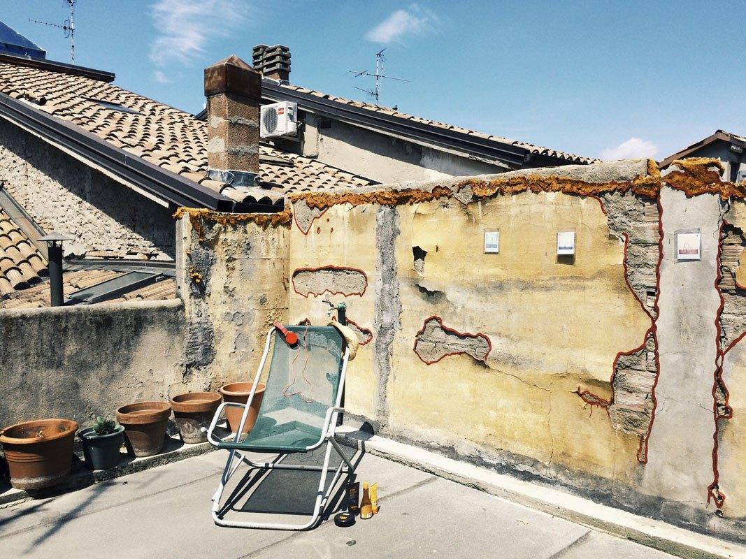 via roma fotografia europea terrace