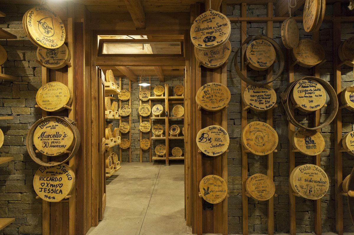 bitto storico cellar