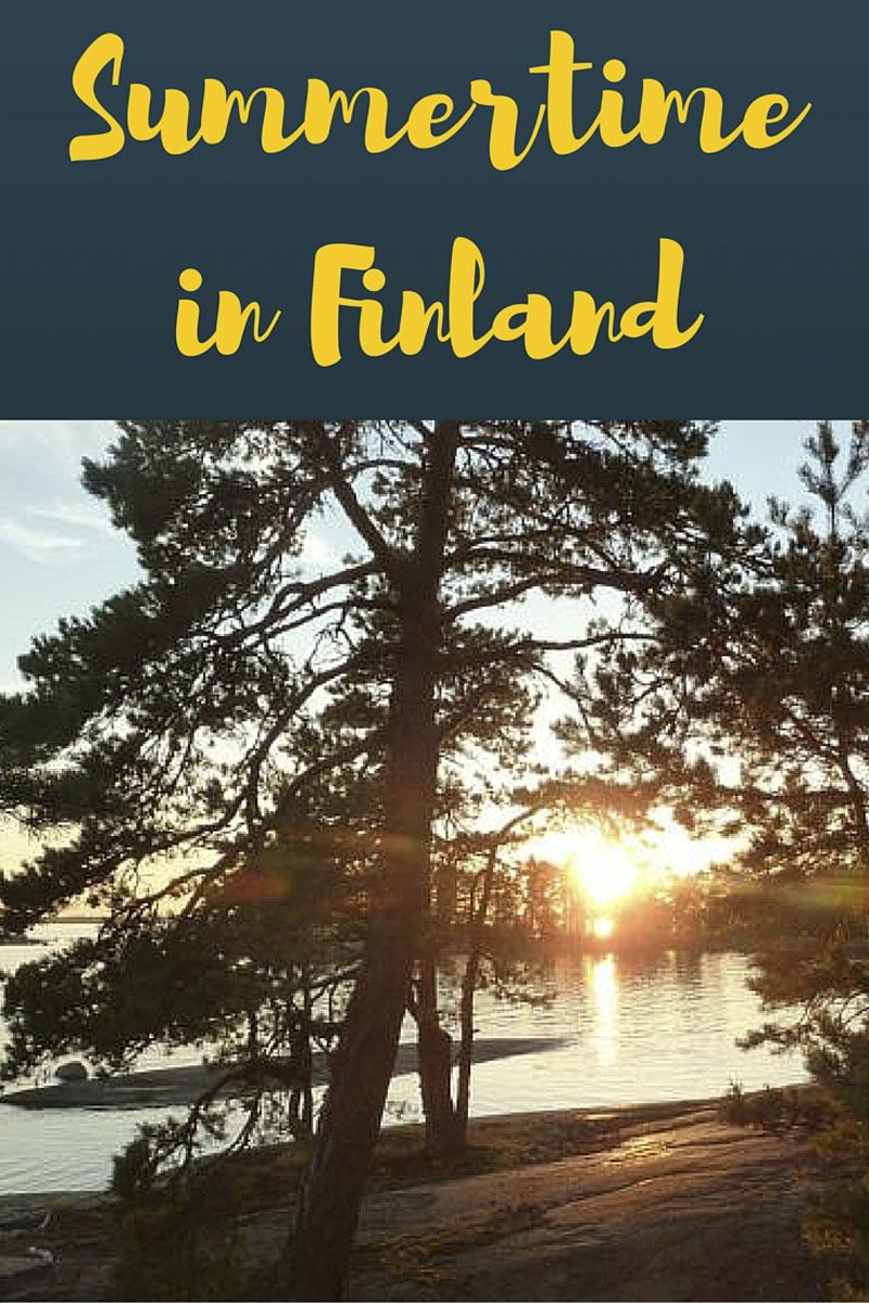 summertime in finland pin