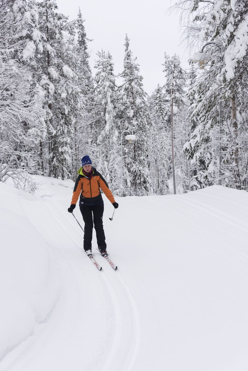 lapland cross country skiing
