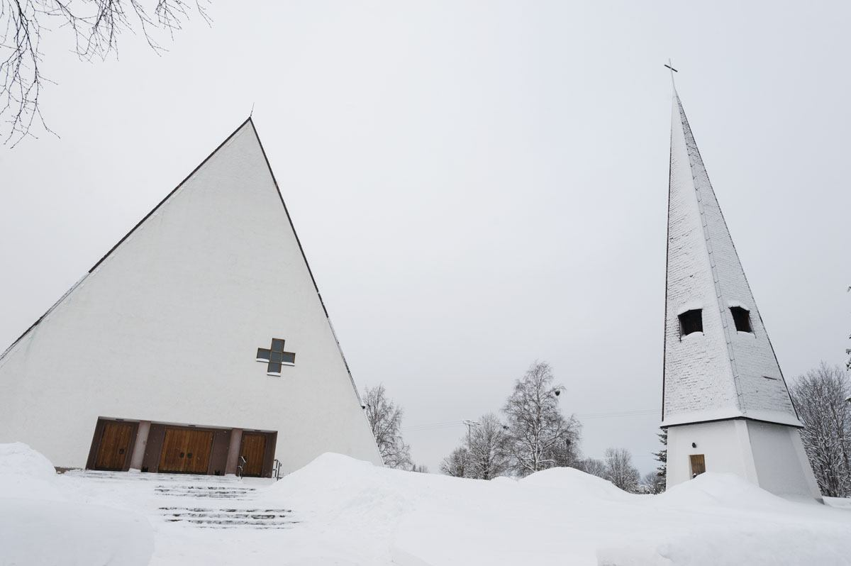 salla new church finland