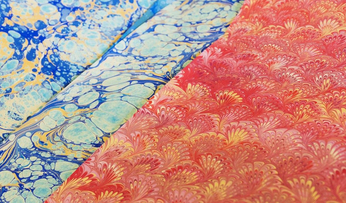 marbleised paper florence