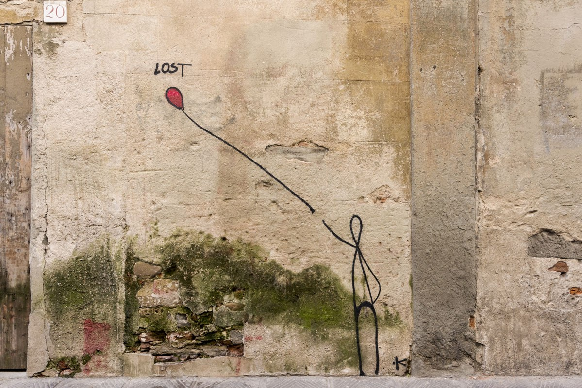 santo spirito graffiti florence