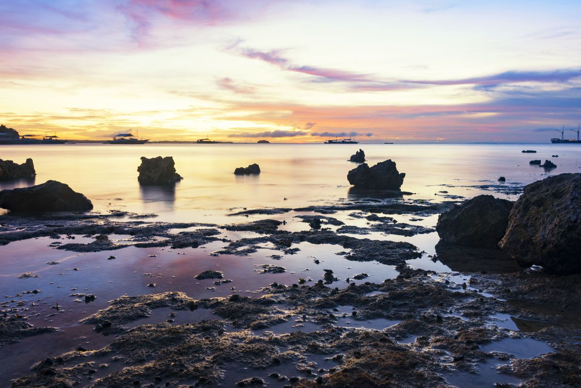 where to go in the philippines malapascua sunset