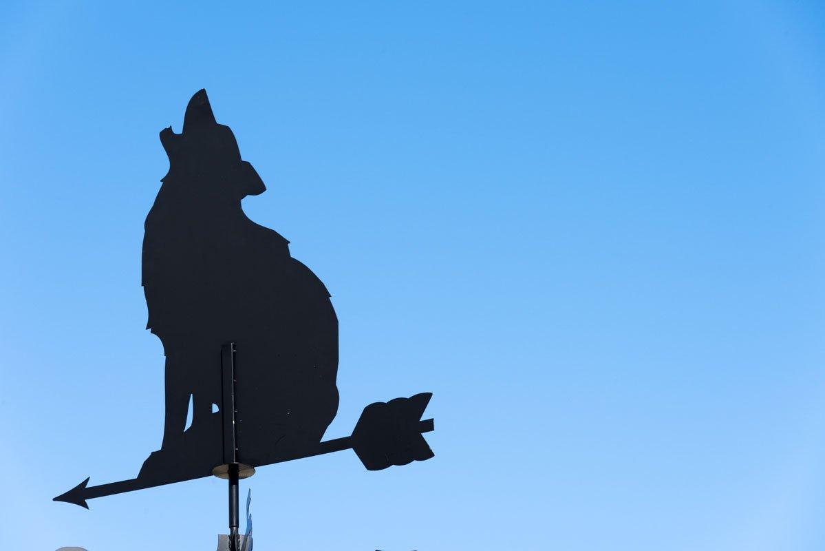 arnoga husky village sign