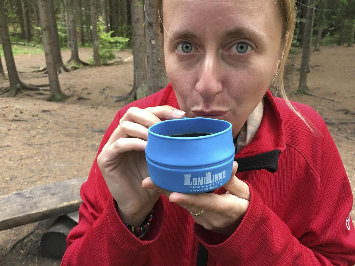 camping in finland