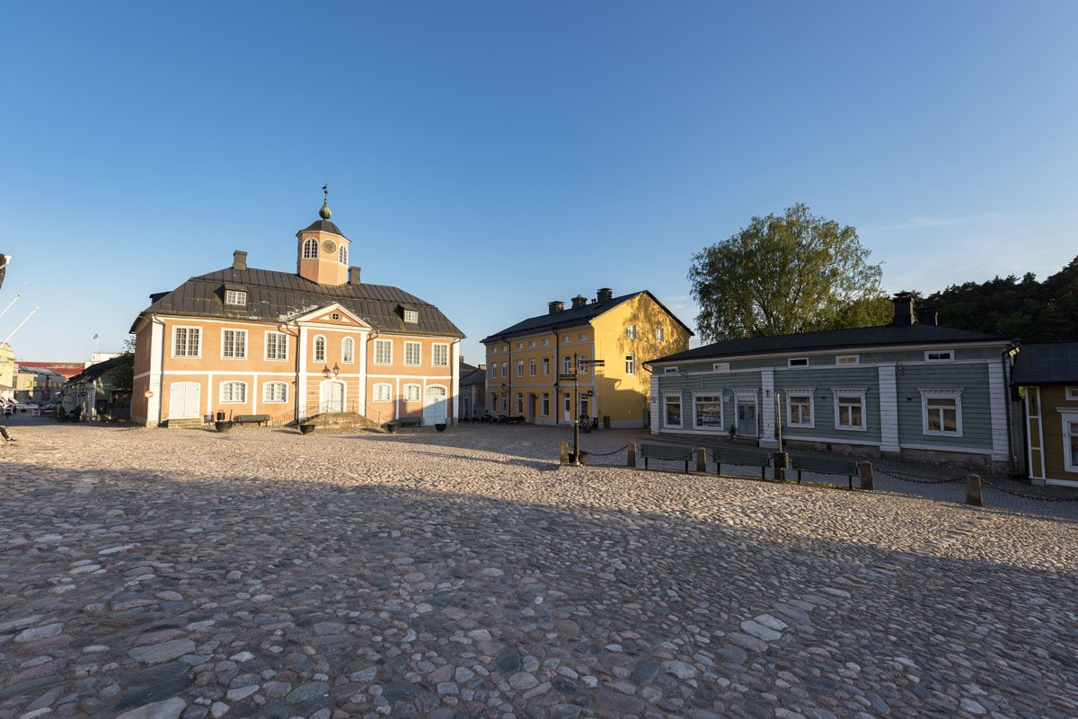 city hall porvoo old city