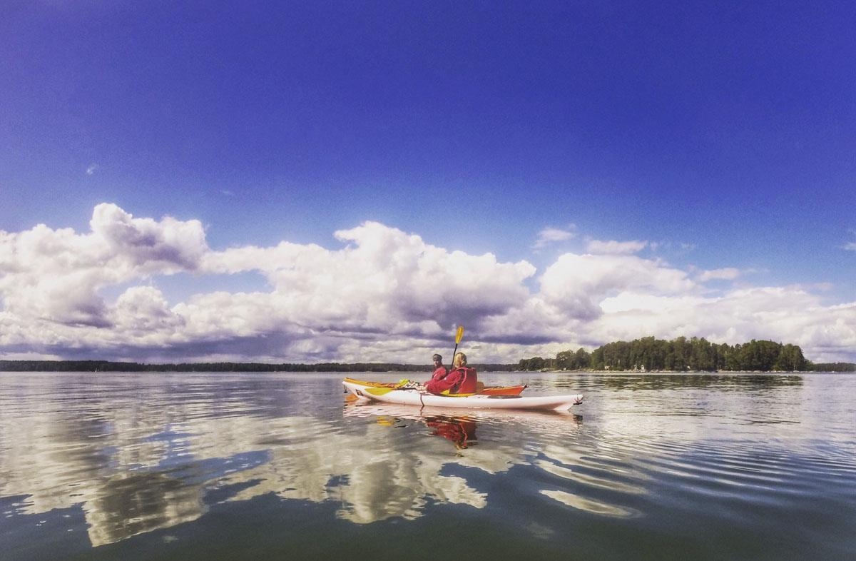 kayaking helsinki