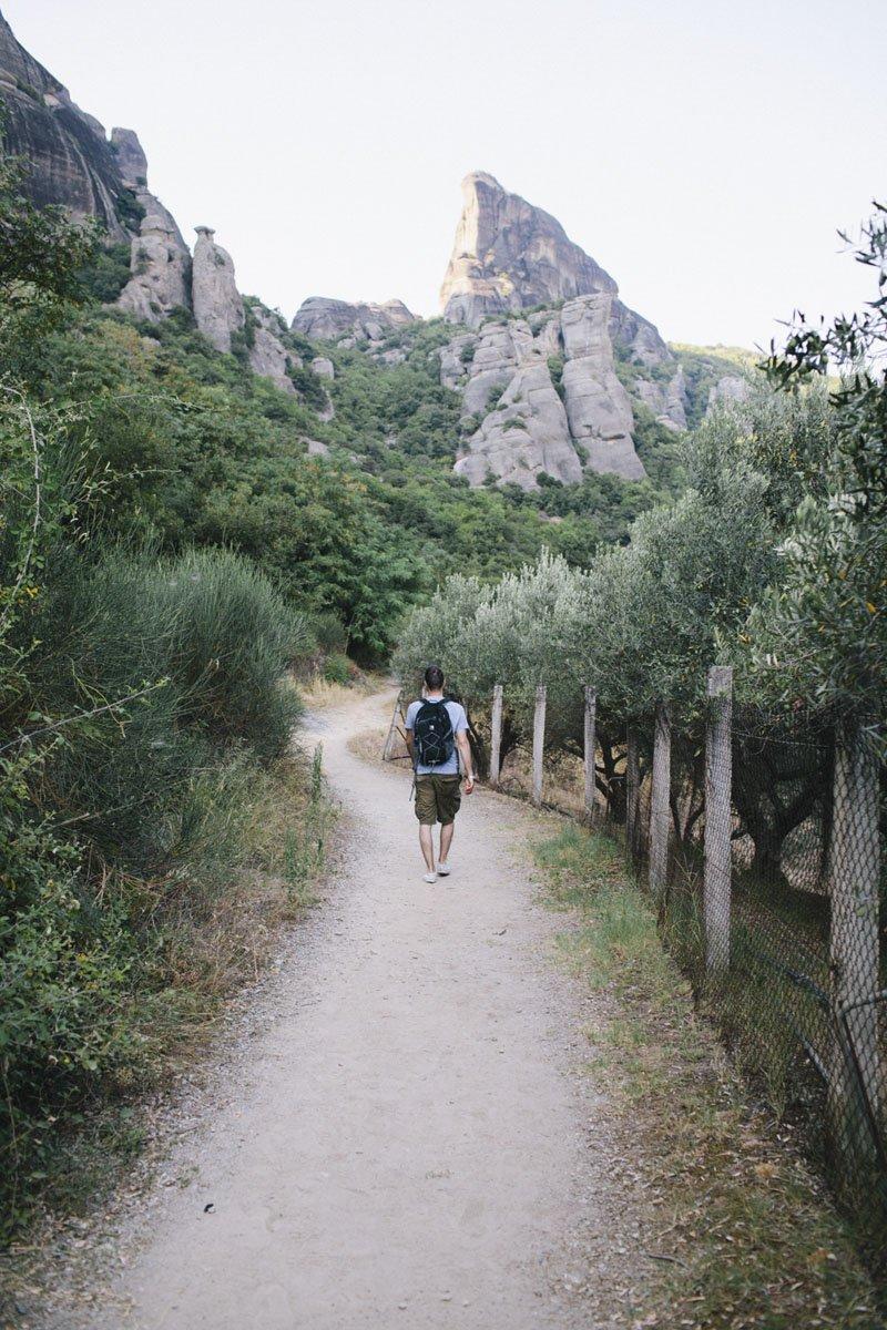 meteora hiking greece
