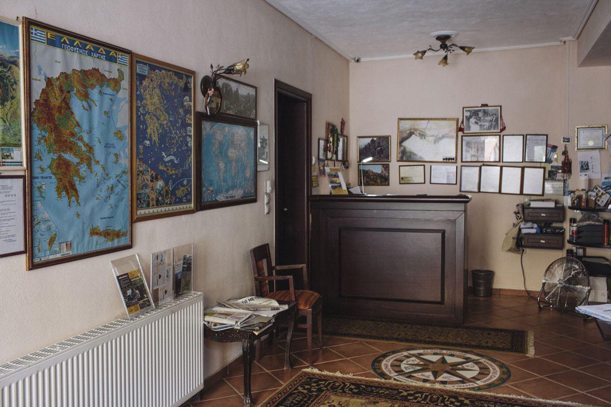 meteora greece alsos house inside