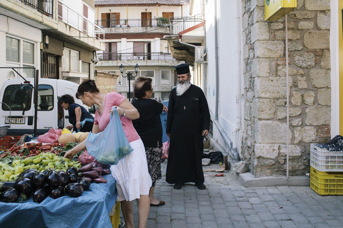 meteora greece orthodox priest