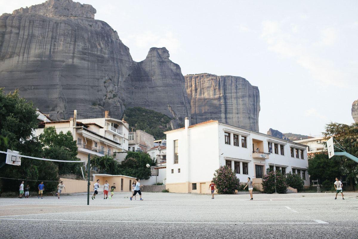 kalambaka greece playground