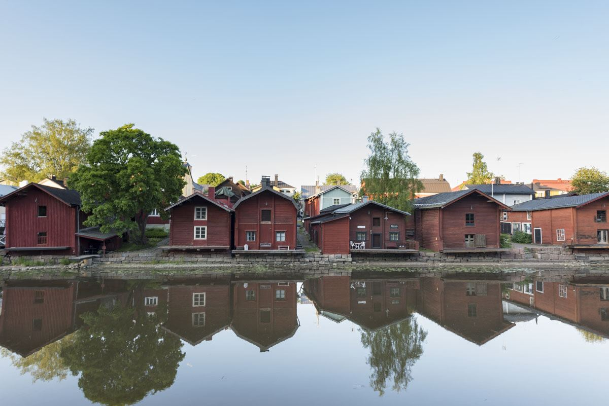 porvoo red shore houses