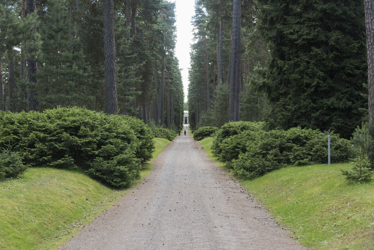Skogskyrkogarden cemetery stockholm