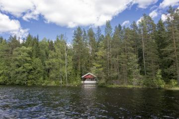 nuuksio lake hawkhill cottage