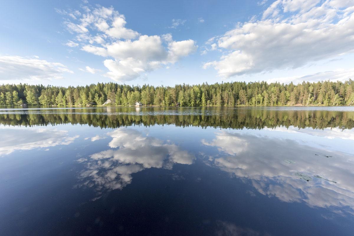nuuksio national park lake