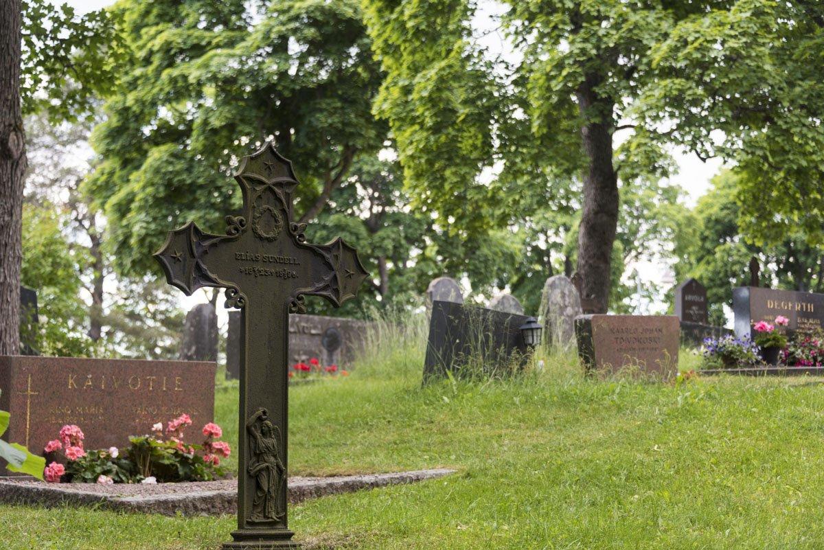vihti finland cemetery