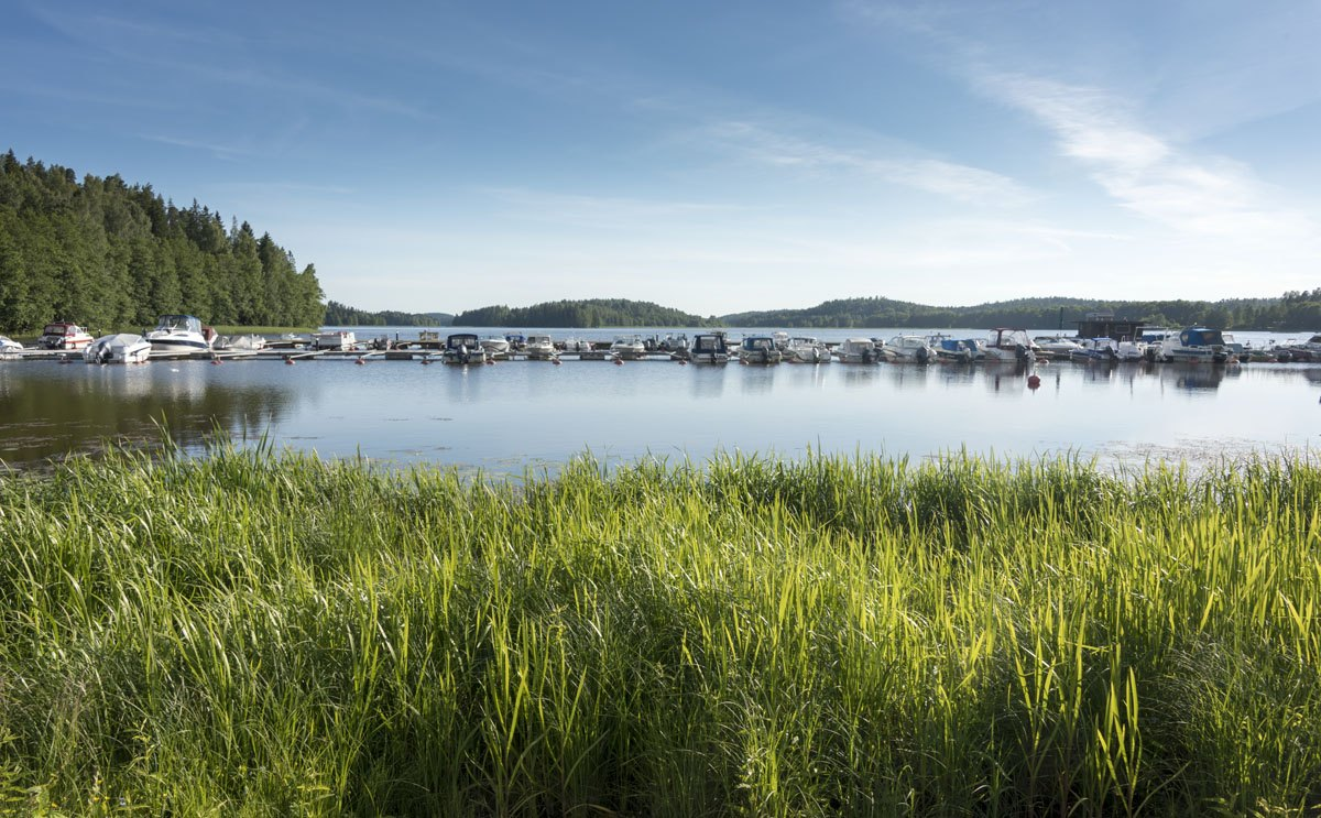 vihti finland harbour lake