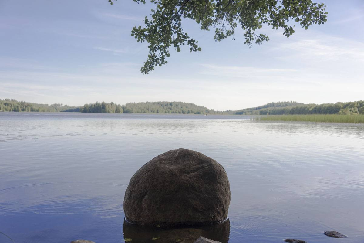 vihti finland lake slow