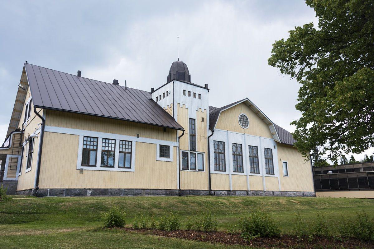 vihti finland wooden building