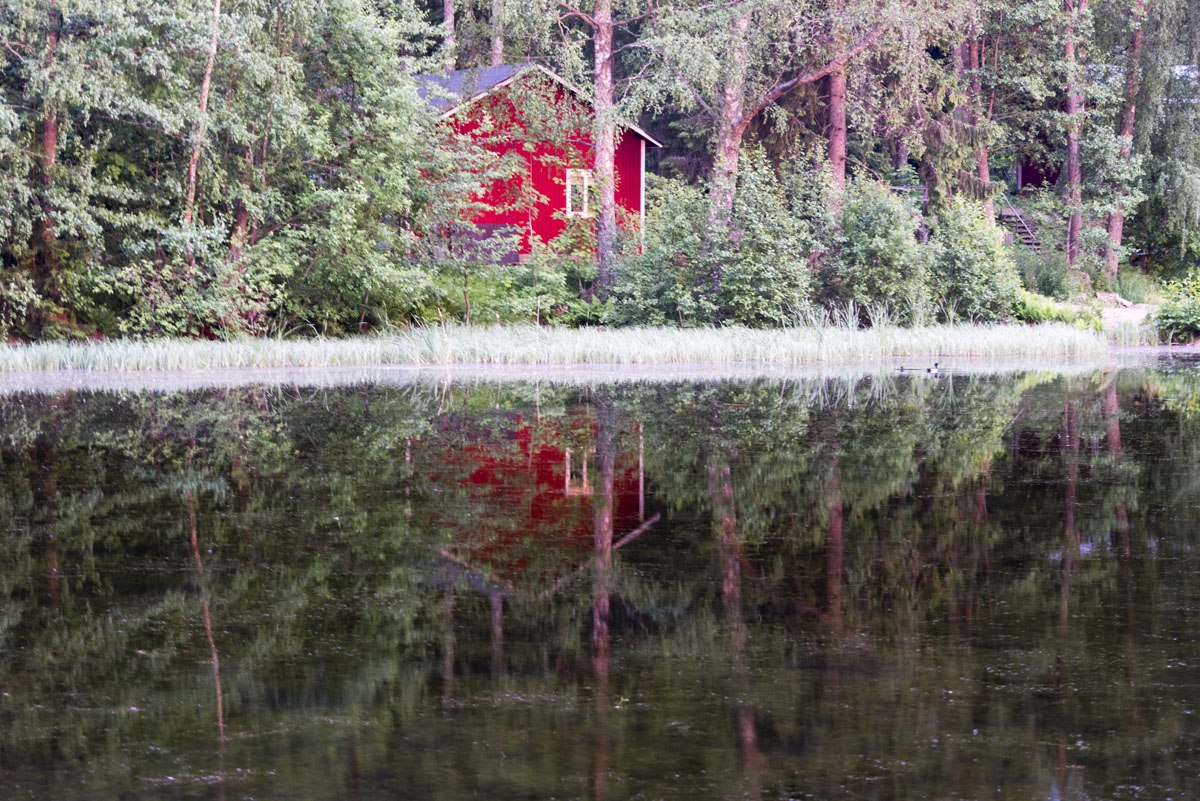 visit lohja finland red house