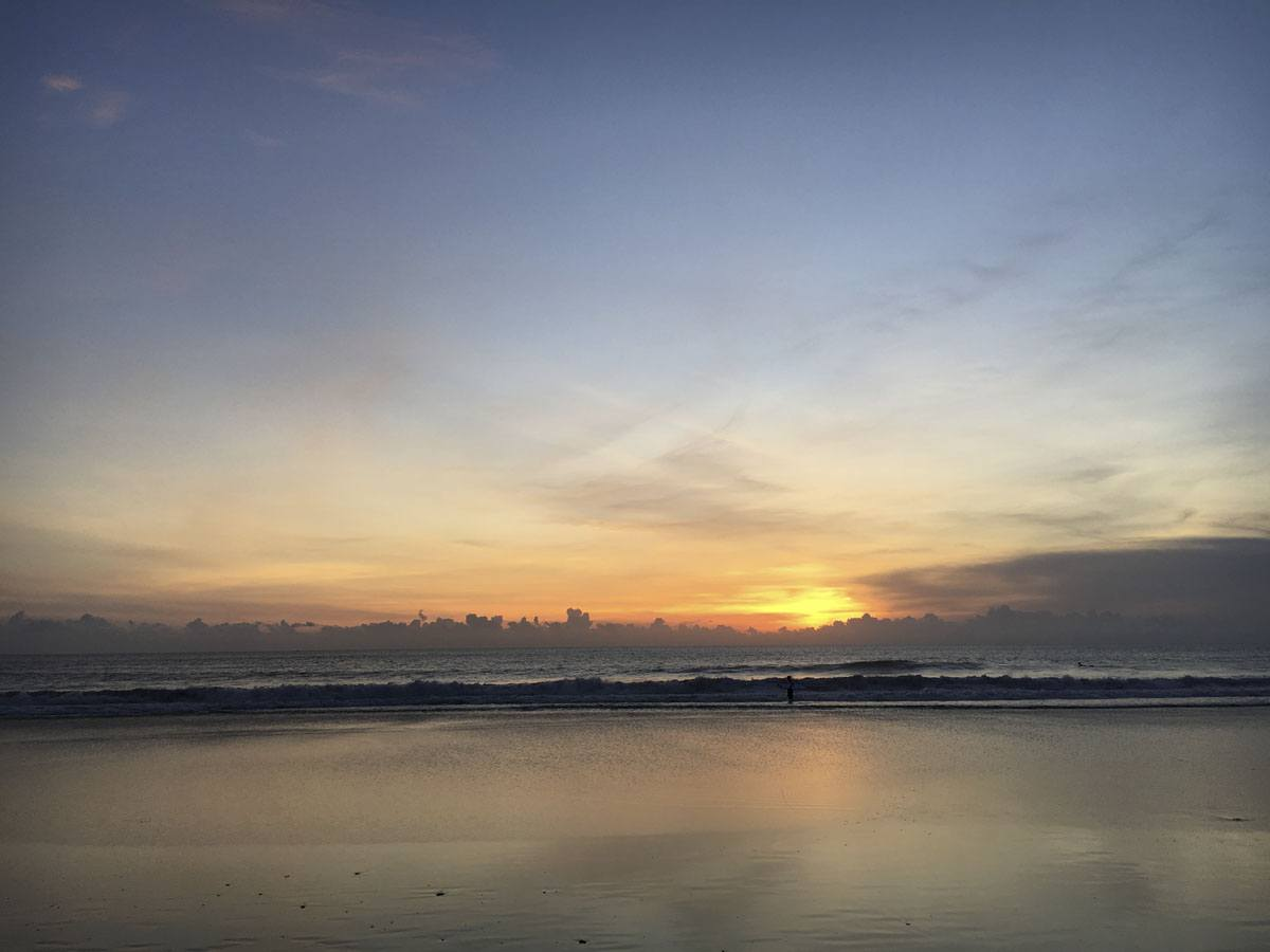 2 days in seminyak sunset