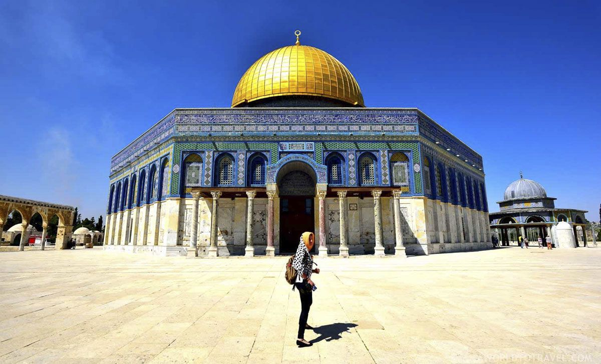 Dome on the rock - Jerusalem - A World to Travel