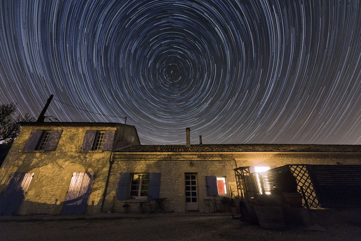 france chateau feely night