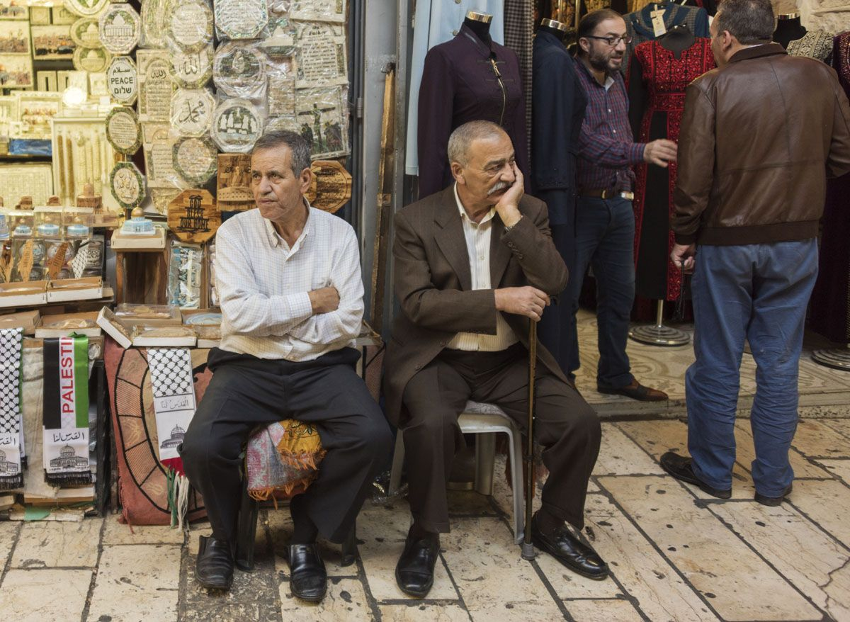 jerusalem old city men