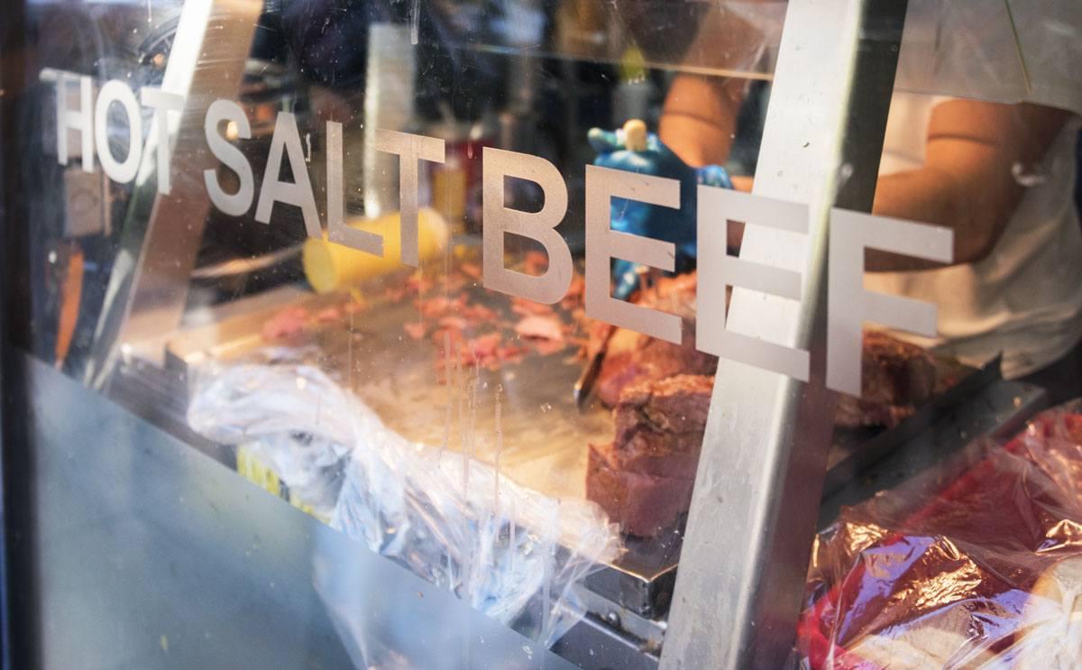 london food tour salt beef