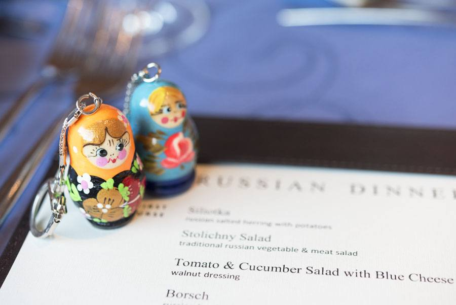 russian night menu viking river cruise