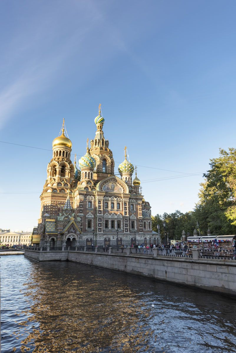 st petersburg spilled blood church