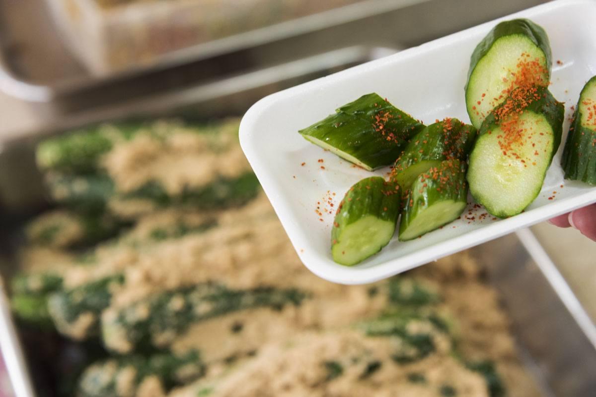tokyo bran miso pickles