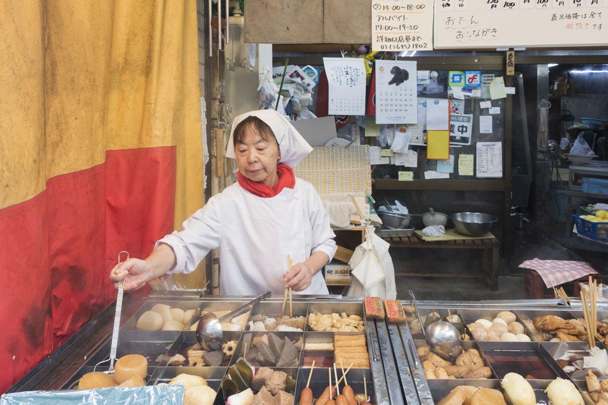tokyo street food oden