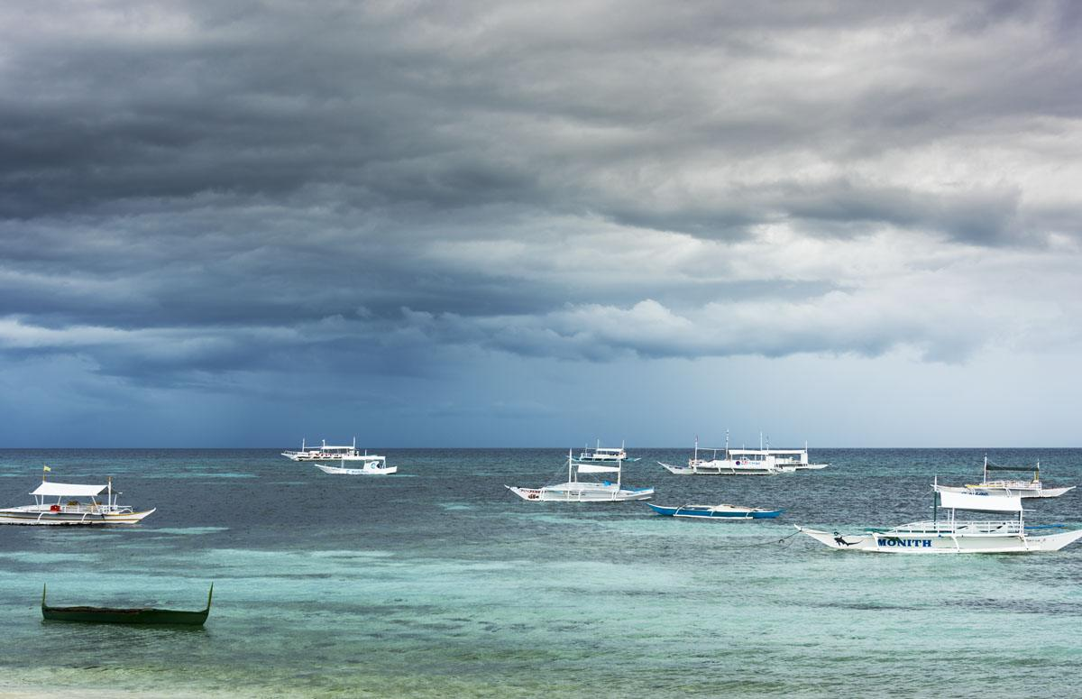 Malapascua island storm