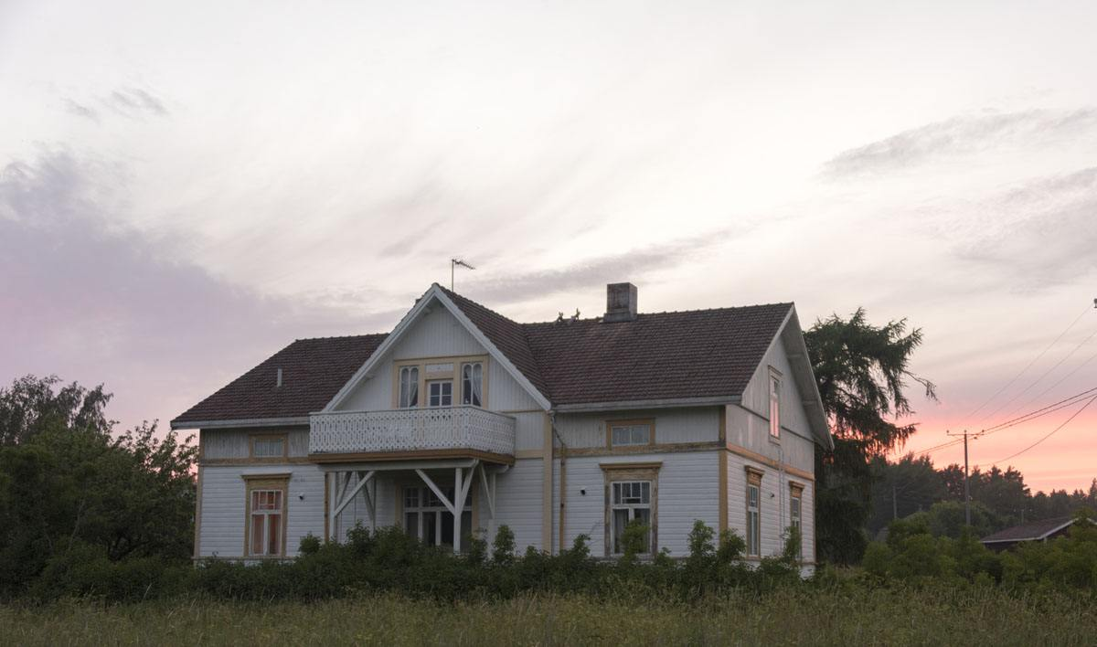 finland archipelago villa cecilia hogsara