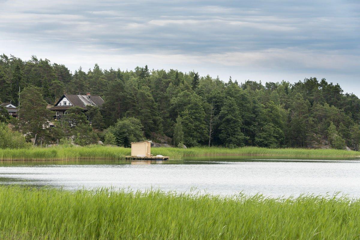 finnish archipelago cabin