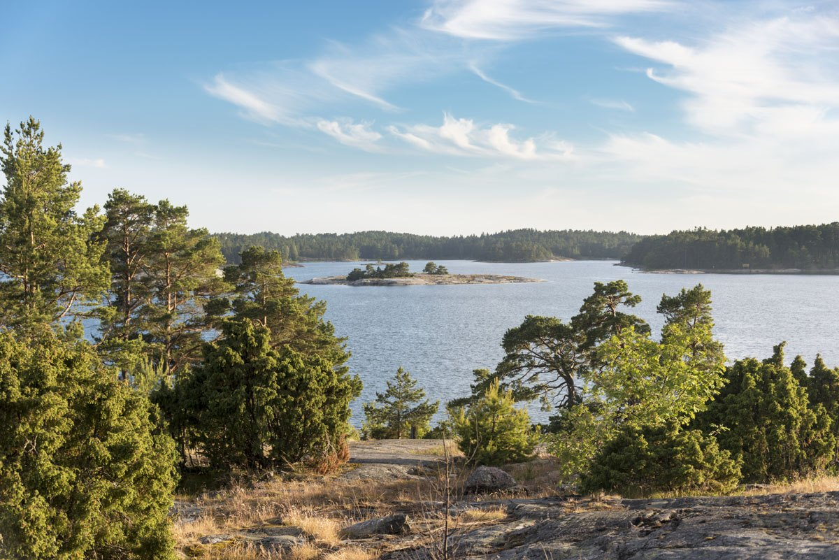 finnish archipelago view