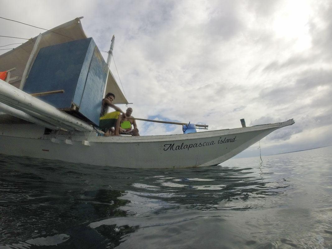 malapascua philippines bangka