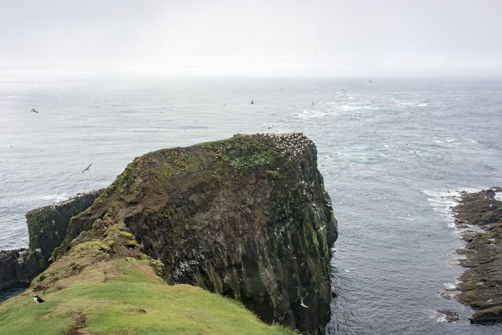 mykines faroe islands view