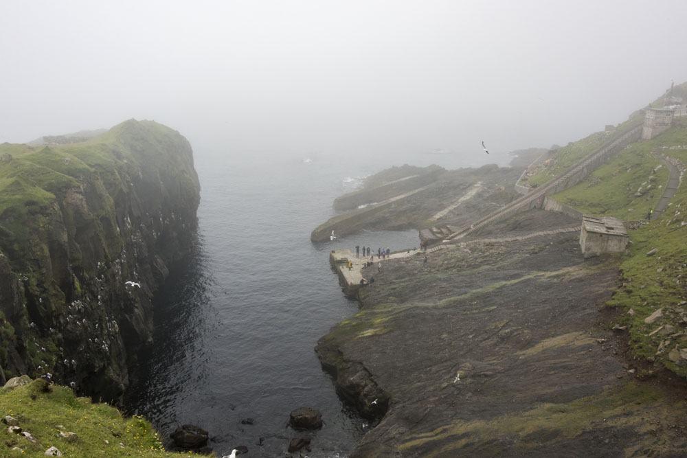 mykines harbour faroe