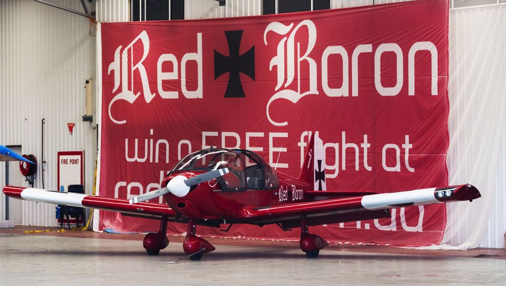red baron plane sydney panoramic flights