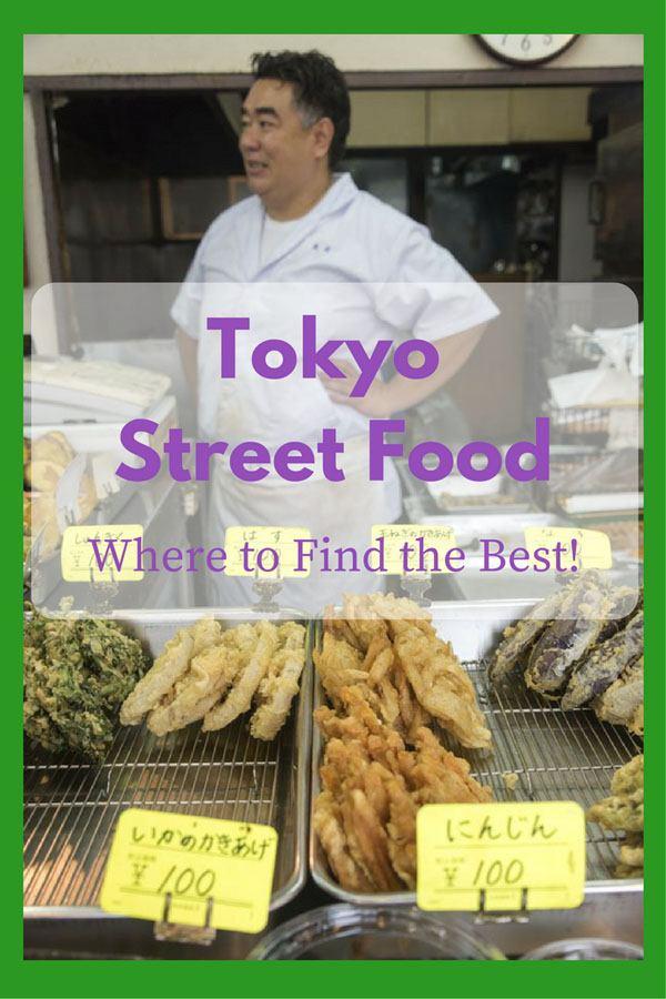 tokyo street food pin
