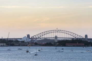 what to do in Sydney sunset bridge